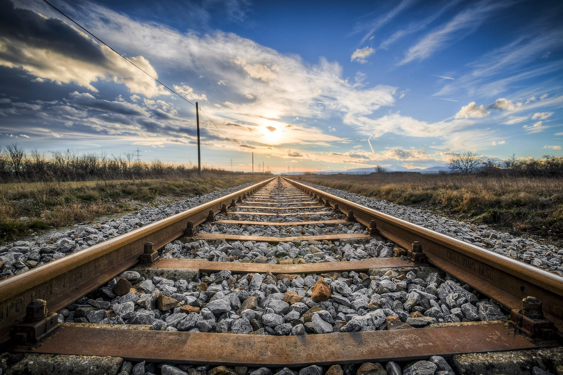 railroad-tracks-sun
